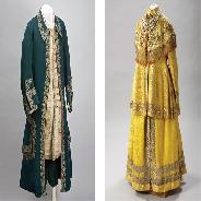 Наряды императорской семьи в Галерее костюма в Эрмитаже